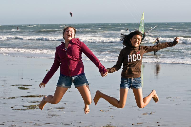 Tara and Sarah, Santa Cruz
