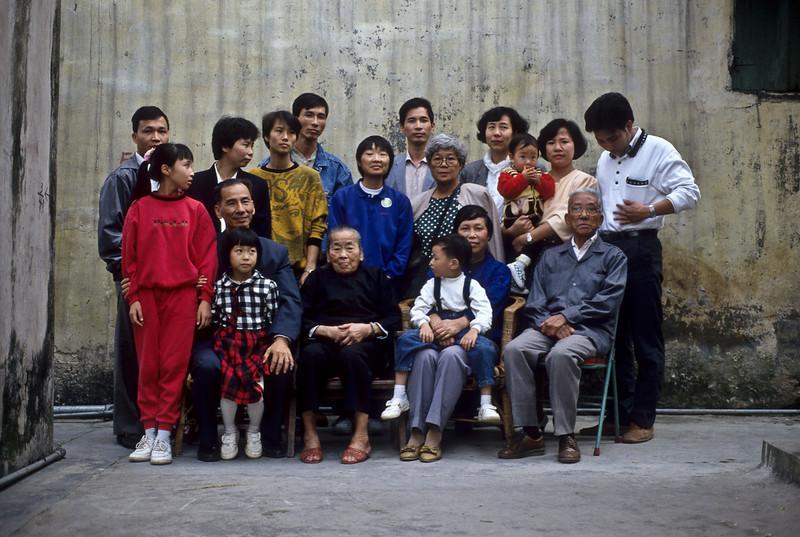 Bing Hei's family, China