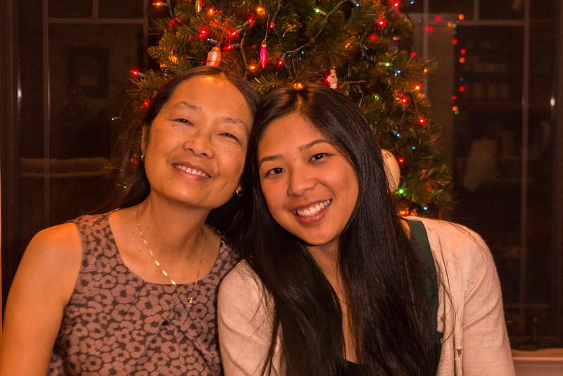 Jet and Sarah, Christmas 2014