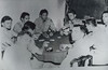Poker game in China during WWII, Dewey K.K. Lowe, USAF