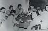 Poker game in China during WWII, Dewey K.K. Lowe, USAF