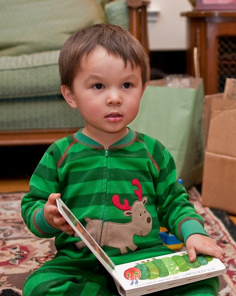 Owen, Christmas 2008
