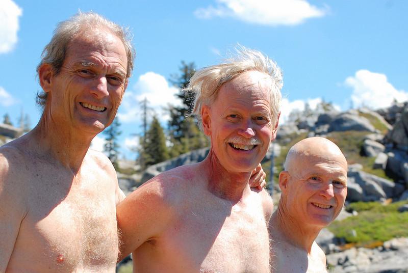 Scott, Doug, and Bill at Island Lake - August 29,  2007