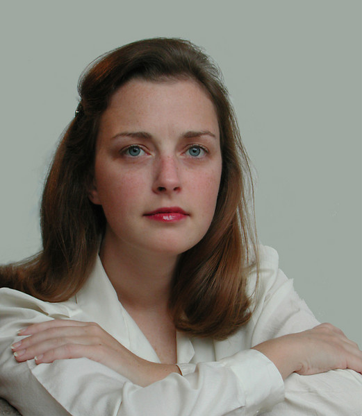 Portrait of Neesham at age 27, February 2002; the most beautiful portrait I have ever done.