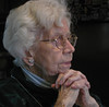 My lovely, late mother Catherine at Thanksgiving in 2000