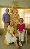 Gayle and her mother Beverly (1921 - 2011) and me:  shot for our 2008 Christmas card revealing details not shown on the card, like Gayle's bare feet