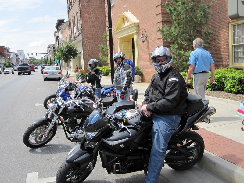 Stopping at Charles Town, WVA