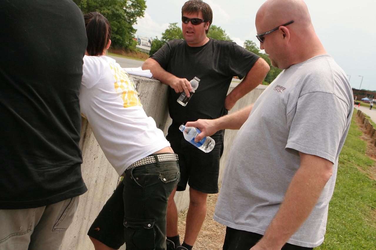 Greg & Bree at Summit Point, 2009/05/24
