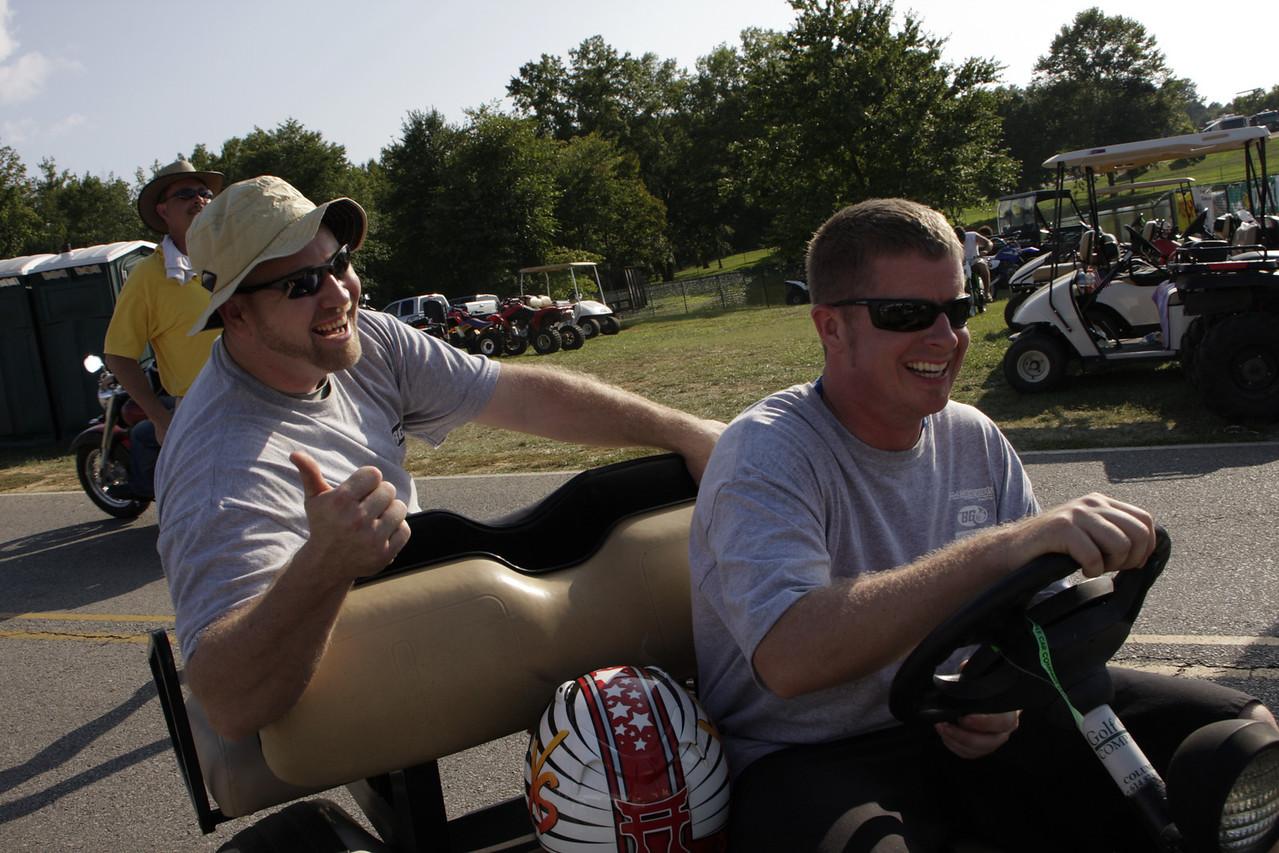 Greg at VIR, 2009/08/15.