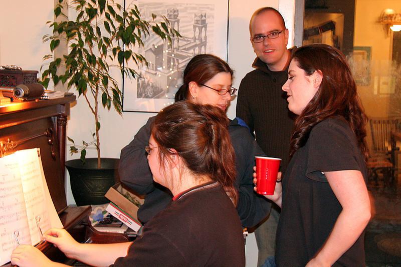 Leslie, Meg, Simon, Laura