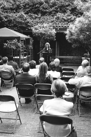 Kristin Berkey-Abbott at 2005 Piccolo Spoleto Poetry Series