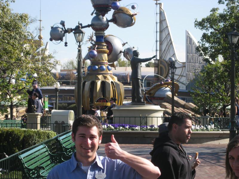 Walt's Wood<br /> Matt gives Walt a thumbs up.