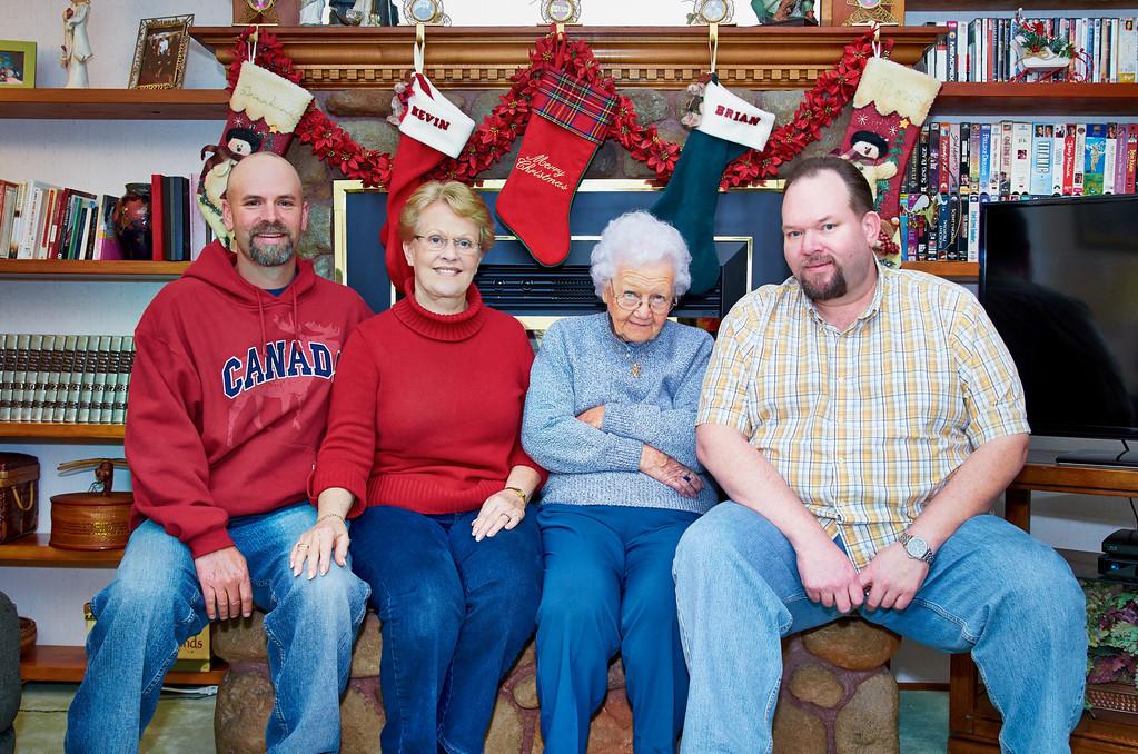 Patty Family Photos Christmas 2012