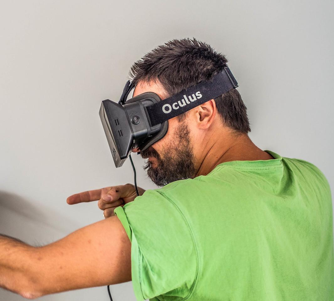 Sergey Krivosheya and Oculus Rift