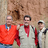 Three Cabelleros in Taos: George Schaub, Joe, and Rick Sammon