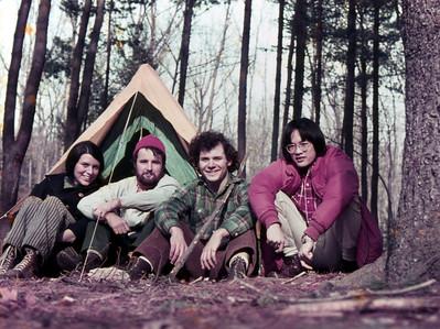 Appalachia: Meg, Patrick, Mike, me: 1973.