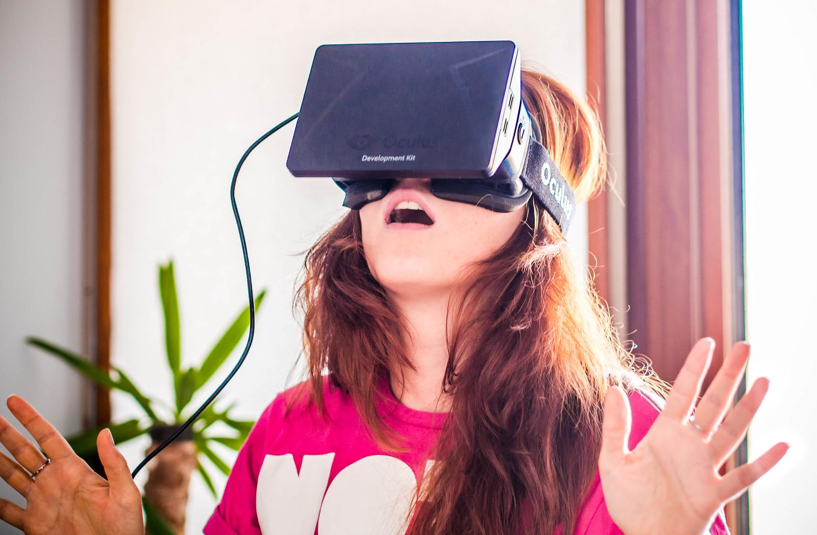 Anna Bashmakova and Oculus Rift