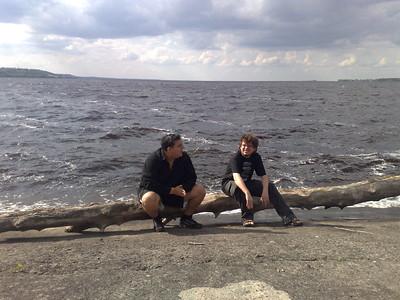 FX и Tigra на Киевском море