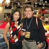 Speed TV's Ann Poonkasem interviews Joe at IAS 2003