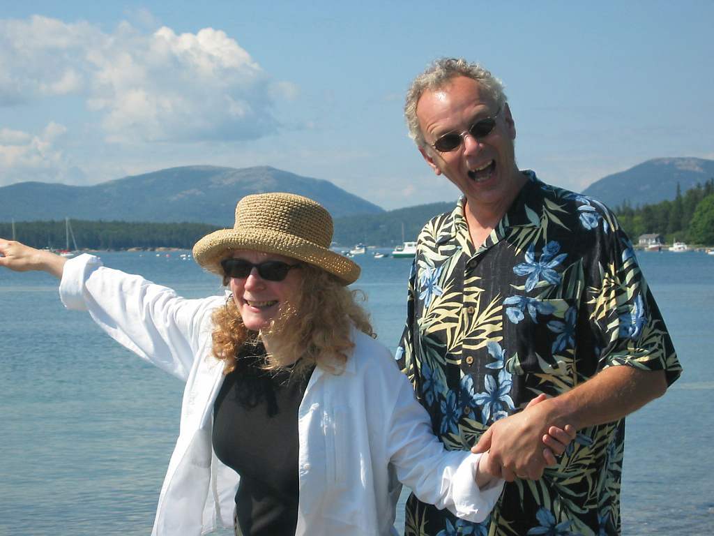 Tom & Leslie, Little Cranberry Island, Maine