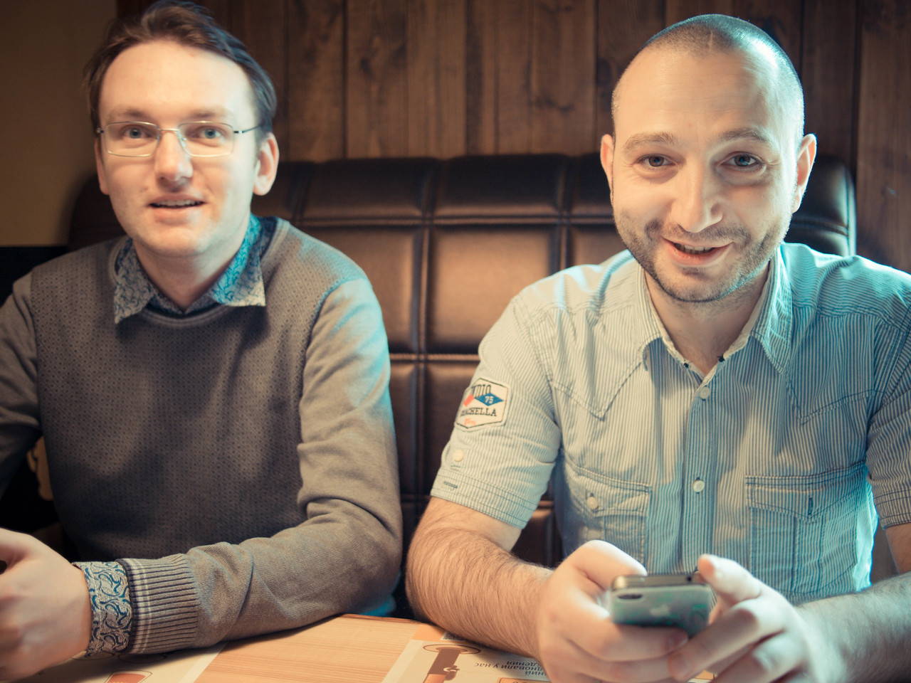 Mikhail Kuzmin and Andrey Arutyunyan