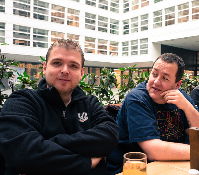 Daniel and Sean