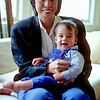 Piers (10 months) with Cathy Chang in San Francisco - June 1987