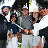 The Morgenstern's and Farace's in Cancun, 2001 (photo: Pirate Pete)
