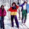 Cross-country skiing - Rissa, Heather, Diane - December 1985