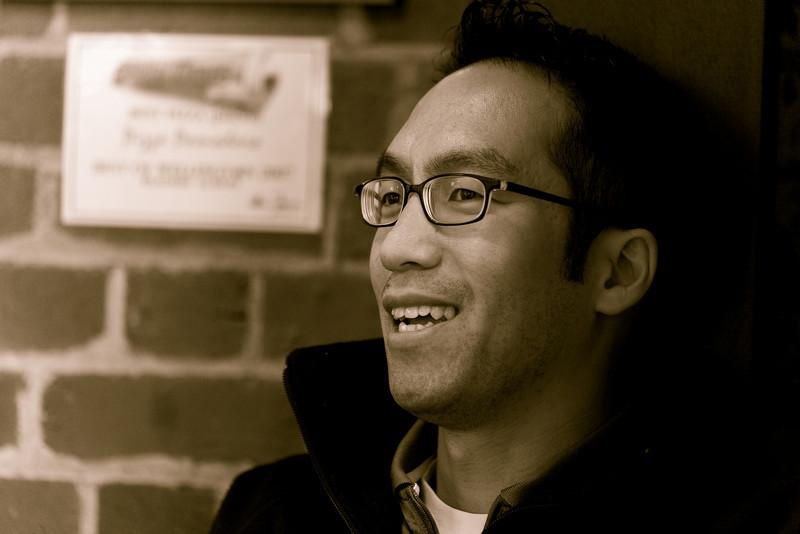 Roger Wong at Pomodoro, PIZZA FRIDAAAY