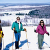 1987 - Cross country skiing - Heather Bracken, Peter Horvath, Clarissa Reberkenny - West Virginia