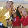 Joe with ProDrive Ferrari Girls at ALMS Race in Monterey, CA
