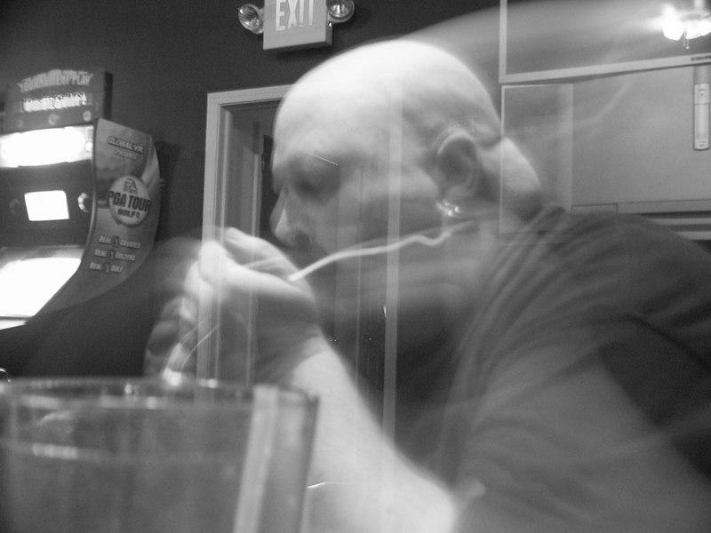 "Jim ""El Grande"" Garner - at an Obliviaxe show in Jan. 2005."