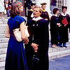 1980 - Maria Suarez and Dan Chasins - HBS graduation - Cambridge, MA