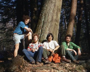 Appalachia, by Clingman's Dome. Mike. Gibble. Me, Patrick.
