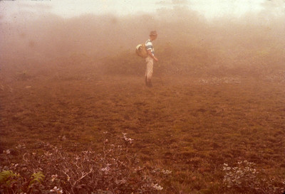 My good friend, Jeff Carter in the Alakai swamp, 1966?