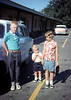 My maternal grandmother snapped this Kodachrome slide of me, my bother and sister in 1964. I'm leaning on my grandfather's Rambler.