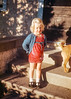 Judy around four years old. Judy was one of my mother's cousins. Judy is now a great-grandmother.