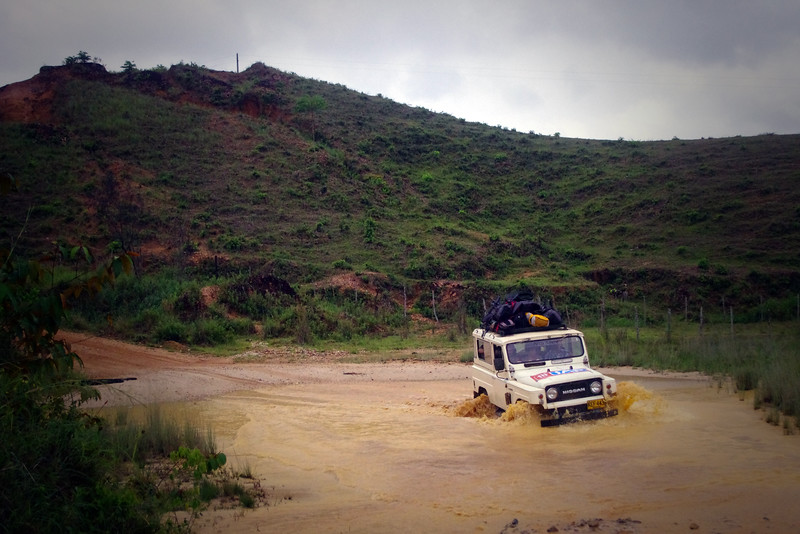 From El Bagre to Puerto Claver we travelled by landcruiser, the roads in this part of Colombia are rough, despite the numbers of people who use this road there is minimal investment in infrastructure.