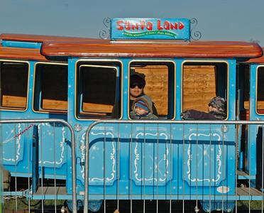 Santa Land Train - Hyde Park, London, November 2010