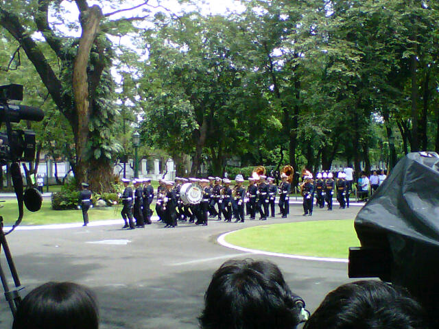 PSG getting ready for the arrival of Secretary Robredo's remains
