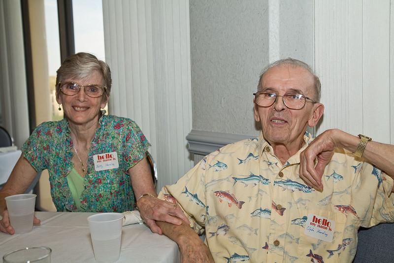 Betty Lockridge Harding and Clyde Harding