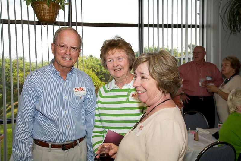 Gene Anderson, Gaye Anderson, Judy Smith Daniels