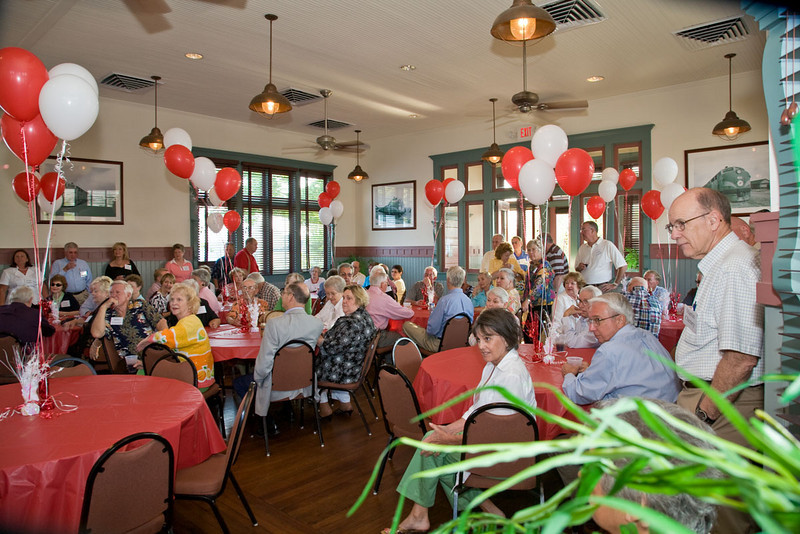 Big night at the Old Train Depot in Morehead City