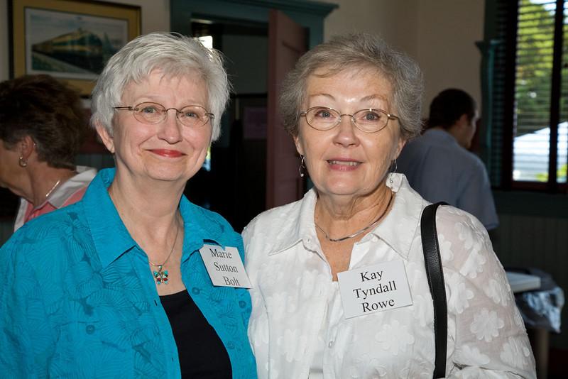 Marie Sutton Bolt, Kay Tyndall Rowe