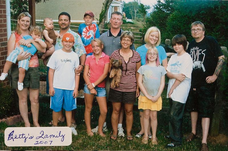Betty Lockridge Harding's Family