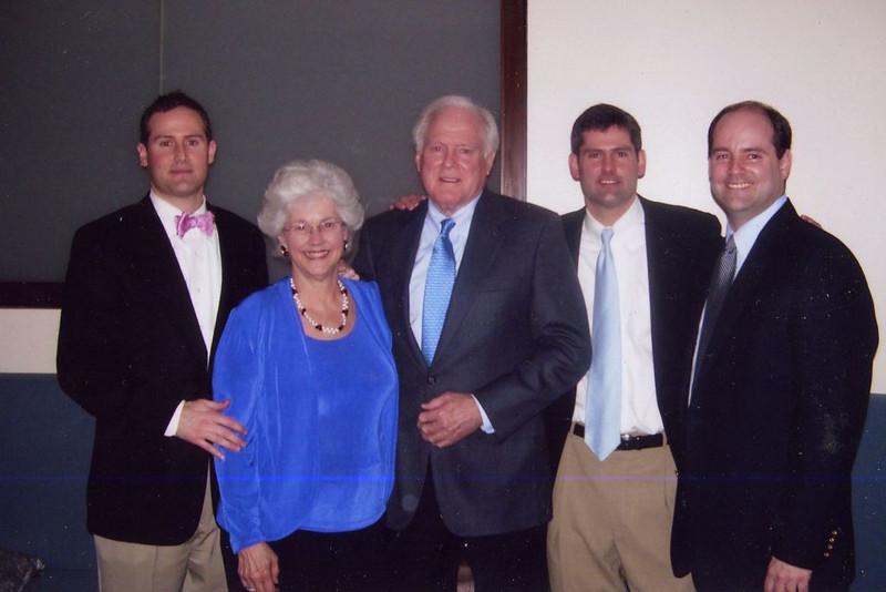 Joyce Tyndall Faucette, Husband Bill Faucette, Joyce and Bill's Sons
