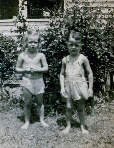 Sunbathers Peggy Roark and Charles Lewis