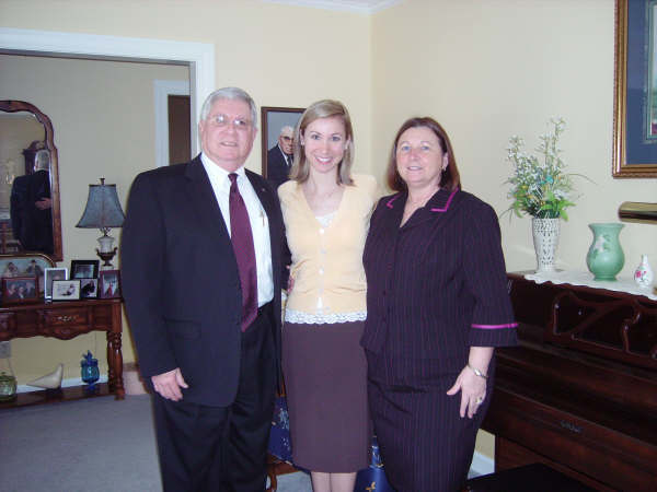 David Dudley, Daughter Stacey and Wife Elaine