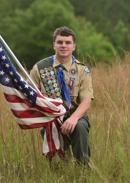 Gage J - Eagle Scout Portraits